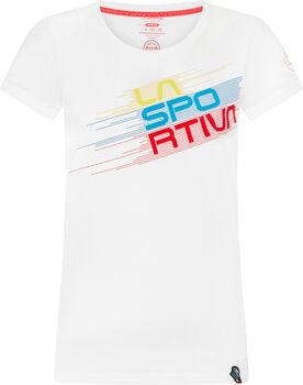La Sportiva Stripe Evo T-Shirt Damen weiß