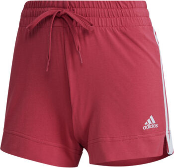 adidas Essentials Slim 3-Streifen Shorts Damen pink