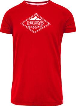 MARTINI Blue Sky T-Shirt Herren rot