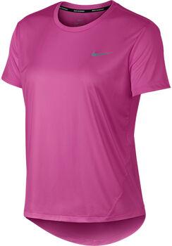 Nike  Miler Top SS Laufshirt Damen pink