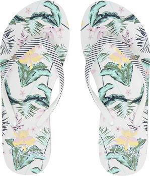 Roxy Portofino III Flip Flops Damen cremefarben
