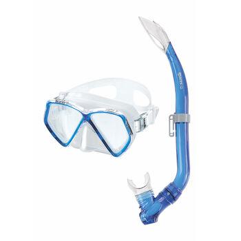 Mares Zephir Schnorchel-Set blau