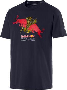 Puma RBR Double Bull T-Shirt Herren blau