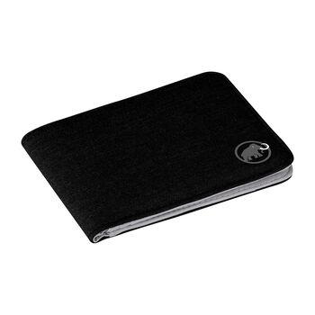 MAMMUT Flap Wallet Mélange schwarz