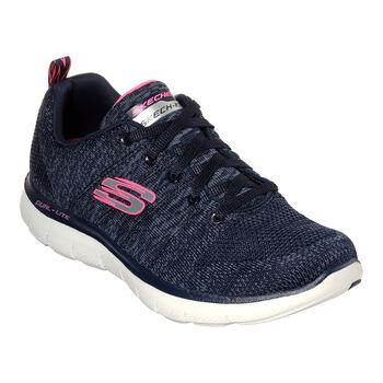 Skechers Flex Appeal 2.0 Sportschuhe Damen blau