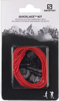 Salomon Quick Lace Kit Reparaturset rot