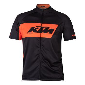 KTM Tour Radtrikot mit Fullzip Herren schwarz