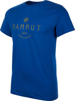 MAMMUT Seile T-Shirt  Herren blau