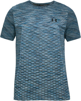 f11981085e Under Armour Vanish Seamless SS Novelty T-Shirt Herren blau