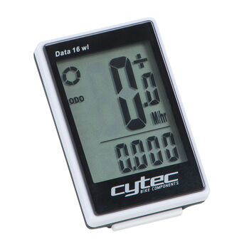 Cytec Data 16 wl Wireless Fahrradcomputer transparent