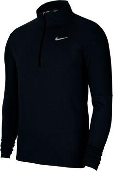 Nike Dri-Fit Element Langarmshirt Herren schwarz