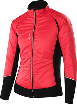 LÖFFLER Hybrid Langlaufjacke Damen rot