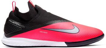 Nike React Phantom VSN 2 Pro DF IC Hallenfußballschuhe rot