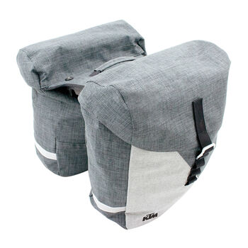 KTM Gepäckträgertasche transparent