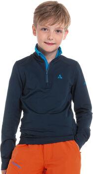 SCHÖFFEL LS Napoli2. Sweatshirt mit 1/2 Zip blau