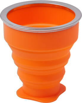 McKINLEY Cup Silicone Becher orange