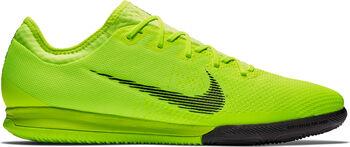 Nike Vapor 12 PRO IC Hallenfußballschuhe gelb