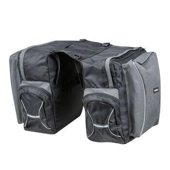 Cytec Travel 2-fach Packtasche grau