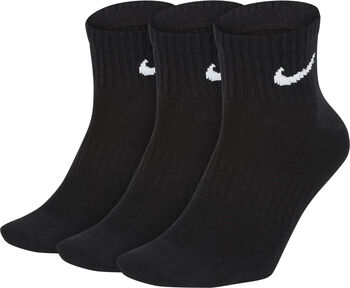 Nike Everyday Lightweight Ankle 3er Pack Socken  schwarz
