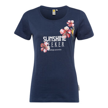 Roadsign Sunshine Seeker Shirt kurzarm Damen blau