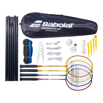 Babolat 4er Badmintonschläger Set weiß