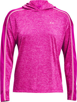 Under Armour WoTech™ Twist Graphic Langarmshirt Damen pink