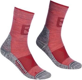 ORTOVOX Alpinist Pro Comp Mid Socken Damen rot