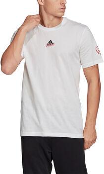 ADIDAS Doodle 360 T-Shirt Herren weiß