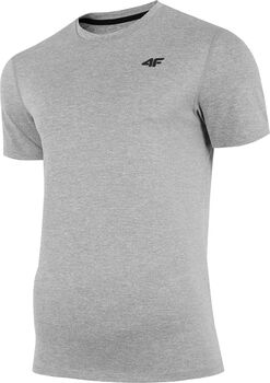 4F T-Shirt Herren grau