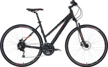 "GENESIS Speed Cross SX 4.9 Crossbike 28"" Damen schwarz"