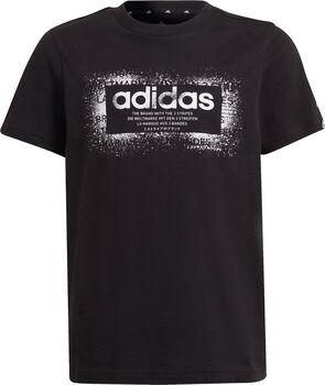 adidas Graphic T-Shirt schwarz