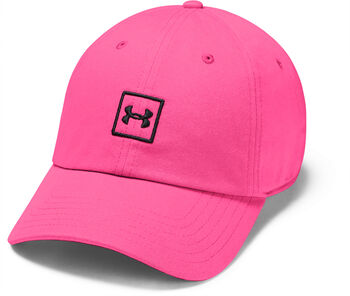 Under Armour Washed Cotton Kappe pink