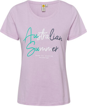 Roadsign Australian Summer T-Shirt Damen lila
