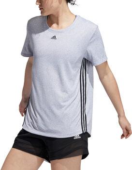 adidas 3-Streifen T-Shirt Damen weiß