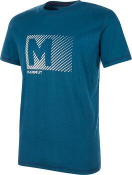 MAMMUT Massone T-Shirt  Herren blau