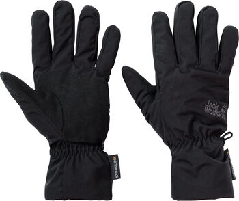 Jack Wolfskin Stormlock Highloft Handschuhe schwarz