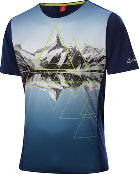 LÖFFLER Peaks T-Shirt Herren blau
