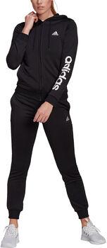 adidas LIN FT Trainingsanzug Damen schwarz