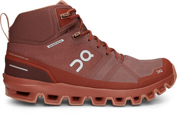 On Cloudrock Waterproof Wanderschuhe Damen braun