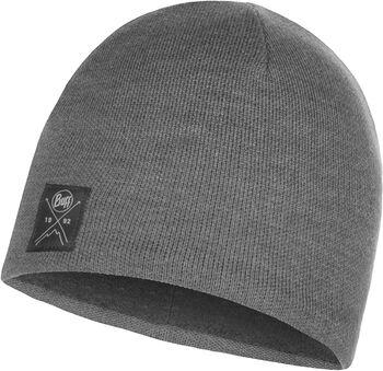 Buff Solid Knitte & Polar Mütze grau