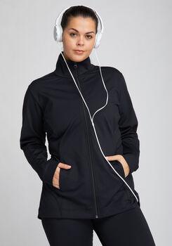 VENICE BEACH CURVY FIT CUBA Trainingsjacke Damen schwarz
