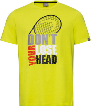 Head Vision Return B T-Shirt gelb