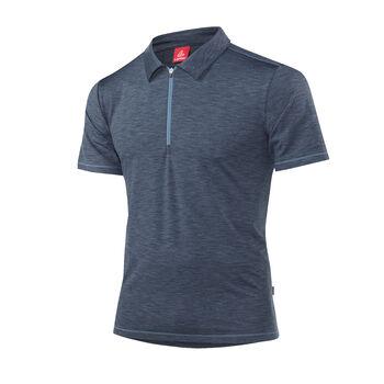 LÖFFLER Rainbow Poloshirt  Herren schwarz