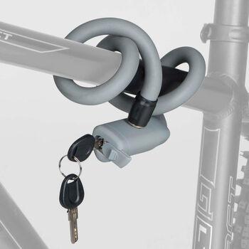 Cytec Soft Flex Kabelschloss mit Schlüssel rot