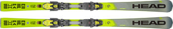 Head Supershape i.Speed SW Ski ohne Bindung grau