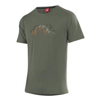 Löffler Hr. Printshirt Herren grün