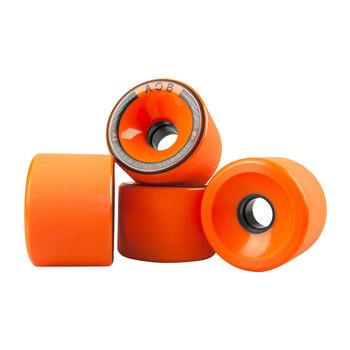 Area One Boards AOB Longboard Ersatzrollen orange