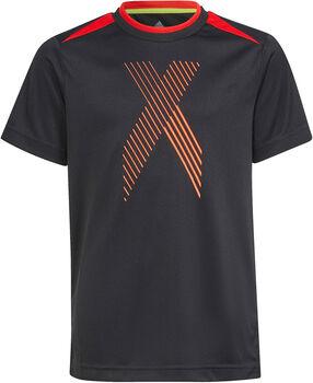 adidas B AR X T-Shirt Jungen schwarz