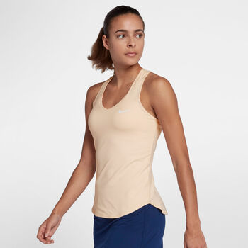 Nike Pure Tank Tennisshirt Damen orange