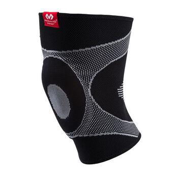 McDavid 4-Way Elastic Kniebandage schwarz